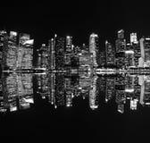 Городской пейзаж небоскреба Стоковые Изображения