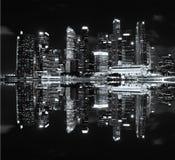 Городской пейзаж небоскреба Стоковое Изображение RF