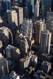 Городской пейзаж Нью-Йорка Стоковые Фотографии RF