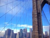 Городской пейзаж Нью-Йорка Стоковые Изображения