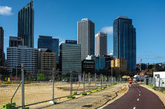 Городской пейзаж Перта Стоковые Изображения