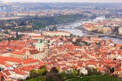 Городской пейзаж Праги, Прага стоковое изображение rf