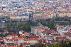 Городской пейзаж Праги, Прага стоковая фотография rf