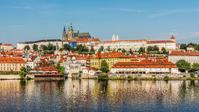 Городской пейзаж Праги Стоковые Изображения
