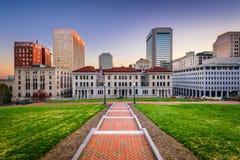 Городской пейзаж Ричмонда Вирджинии Стоковые Изображения