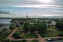 Городской пейзаж Санкт-Петербург Стоковые Фотографии RF