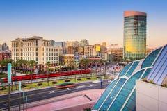 Городской пейзаж Сан-Диего Стоковая Фотография