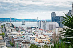 Городской пейзаж Сан-Франциско Стоковое Изображение
