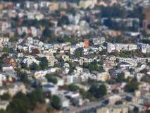 Городской пейзаж Сан-Франциско Стоковое фото RF