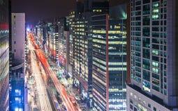 Городской пейзаж Сеула Стоковое Фото