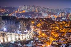 Городской пейзаж Сеула Стоковое фото RF