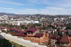 Городской пейзаж Сочи Россия Стоковые Изображения RF