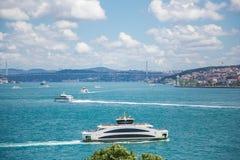 Городской пейзаж Стамбула Стоковое Фото
