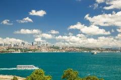 Городской пейзаж Стамбула Стоковое фото RF