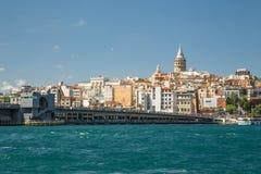 Городской пейзаж Стамбула Стоковые Фото