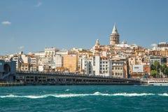 Городской пейзаж Стамбула Стоковое Изображение