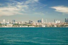 Городской пейзаж Стамбула Стоковое Изображение RF