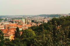 Городской пейзаж старого городка в Праге, чехии Стоковая Фотография