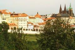 Городской пейзаж старого городка в Праге, чехии Стоковые Изображения RF
