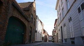 Городской пейзаж старого городка Стоковое фото RF
