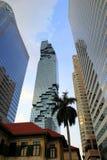 Городской пейзаж с небоскребами Стоковое Изображение