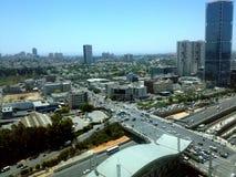 Городской пейзаж Тель-Авив, Израиль Стоковая Фотография