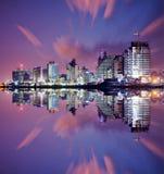 Городской пейзаж Тель-Авив стоковые фотографии rf