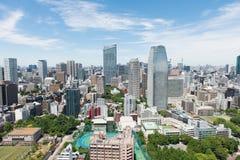 Городской пейзаж токио стоковые фотографии rf