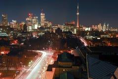 Городской пейзаж Торонто городской Стоковое Изображение RF
