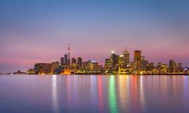 Городской пейзаж Торонто, Канады Стоковые Изображения RF