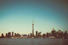 Городской пейзаж Торонто Стоковые Фото