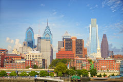 Городской пейзаж Филадельфии Стоковое фото RF