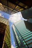 городской пейзаж цветастый Стоковое Изображение RF