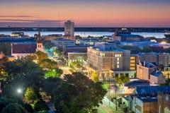 Городской пейзаж Чарлстона Стоковое фото RF