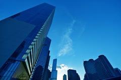 Городской пейзаж Чикаго Стоковые Изображения RF