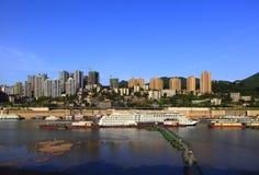 Городской пейзаж Чунцина Стоковое фото RF