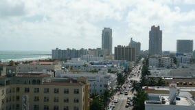 Городской пейзаж - юговосточный раздел Miami Beach Стоковое Фото