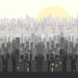 Городской пейзаж Стоковые Изображения RF