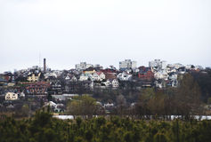 Городской пейзаж Стоковые Фото