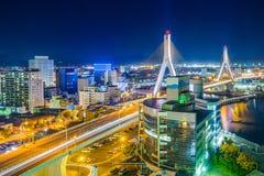 Городской пейзаж Aomori Японии Стоковое Фото