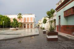 городской пейзаж clara города i santa Стоковое Изображение RF