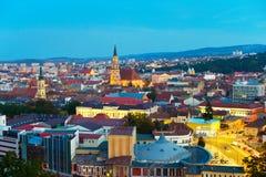 Городской пейзаж cluj-Napoka Румыния Стоковое Изображение