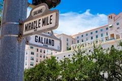 Городской пейзаж Coral Gables Стоковое фото RF