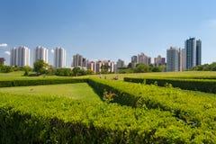 Городской пейзаж Curitiba, Бразилии Стоковая Фотография RF