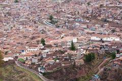 Городской пейзаж Cuzco стоковая фотография rf
