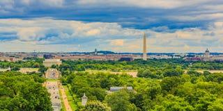 Городской пейзаж DC Вашингтона Стоковая Фотография RF