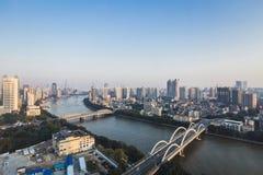 городской пейзаж guangzhou Стоковые Фото