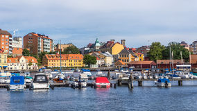 Городской пейзаж Karlskrona Стоковое Изображение