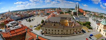 Городской пейзаж Kromeriz Стоковая Фотография