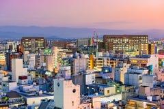 Городской пейзаж Kumamoto Японии Стоковое фото RF